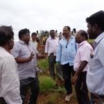 DFO demonstrating plantation method