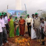 Govt authorities attended plantation drive