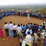 Oath by Saraswati Vidya Mandir students - narpala